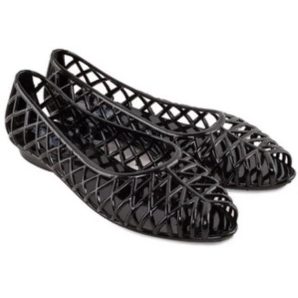 a4d606d8bb26 American Apparel classic lattice jelly sandal